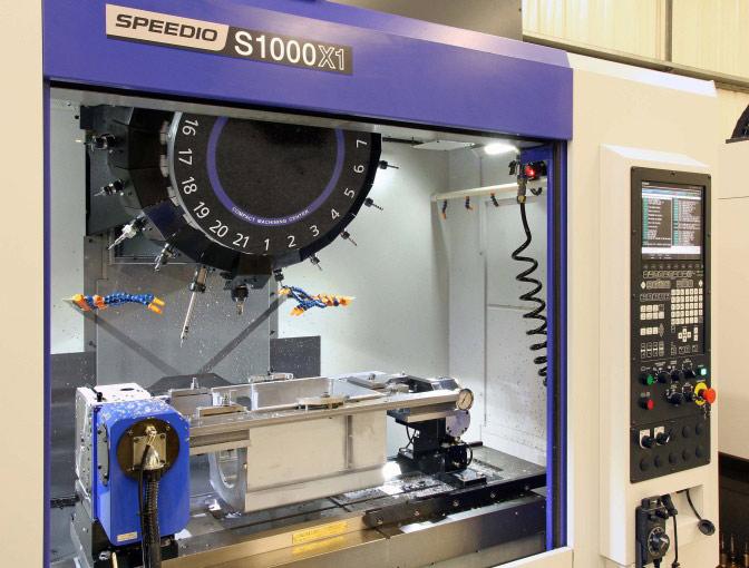 CNC Machine Speedio S1000X1